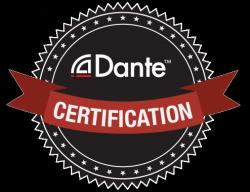 Sello de certificación Dante