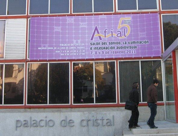 Entrada al AFIAL