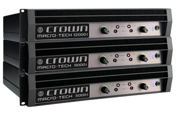 Macro-Tech I : 5000i, 9000i y 12000i de Crown Audio