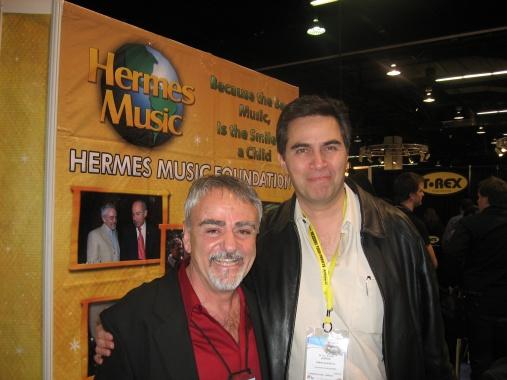 Alberto Kreimermann (Hermes Music) y Jorge Gonzalez (Gonher)