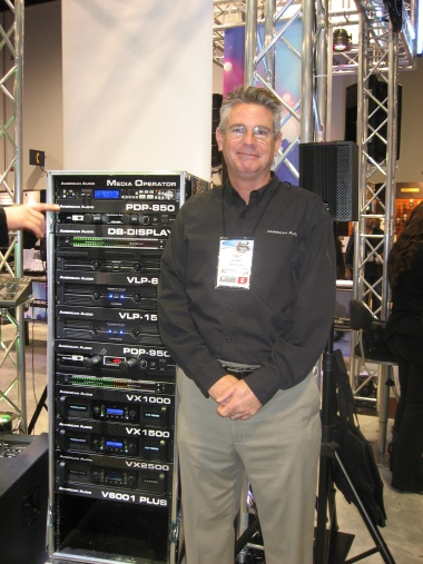 Tom Freret de American Audio