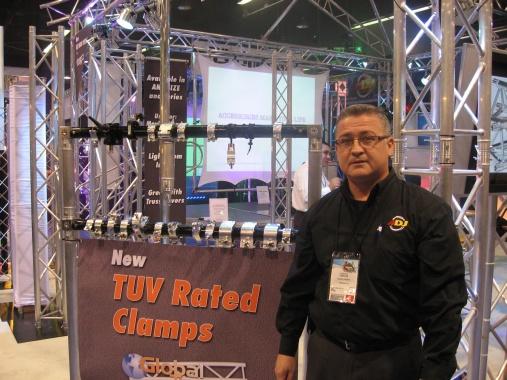 Carlos Vargas en Global Truss