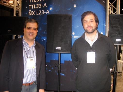 Jean Paul y Antonio Gaspard de Audioconcept