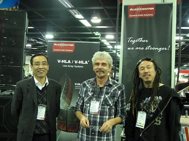 Audiocenter, Tony Lee, Jurgen Eicker