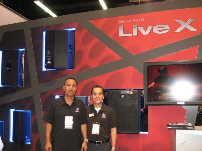 Electro-Voice LiveX, Jose Luis Maya, Ernesto Montañez