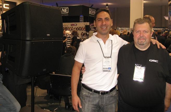 QSC, Guillermo Promesti y Rubén Szachniewicz