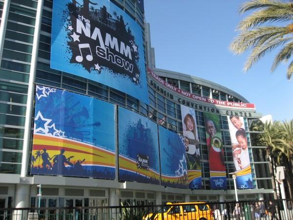 Entrada al NAMM