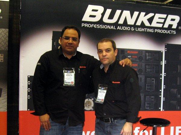 Bunker Audio, Arath Palomera y Héctor García