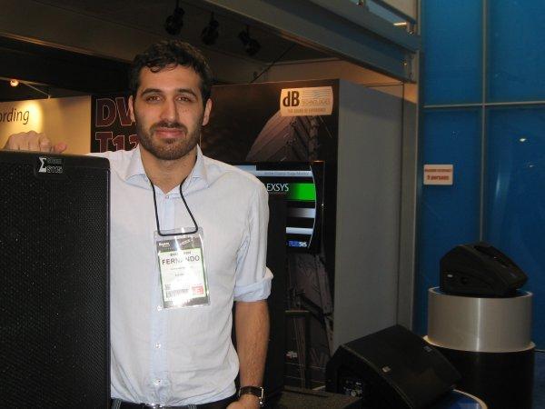 dB Technologies, Fernando Roitman