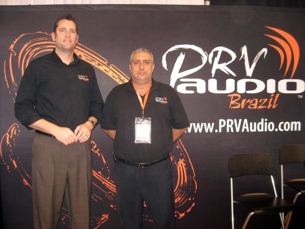 PRV Audio, Paulo Ventorini y Johnny Sanders