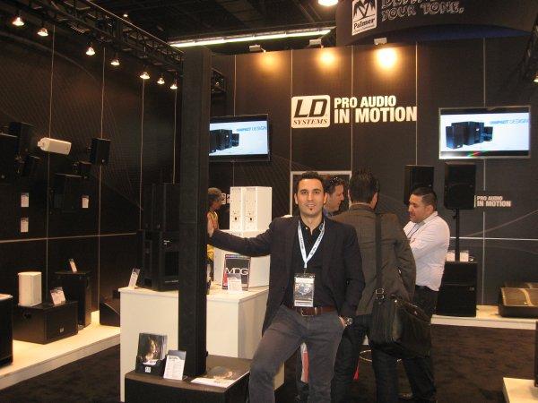 Gabriel Medrano de LD Systems / Adam Hall