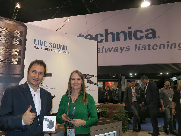 Audio-Technica, Julio Levinsonas y Mary Eisaman