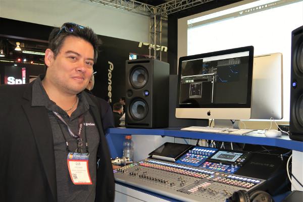 PreSonus StudioLive 32, Gustavo Gus Lozada