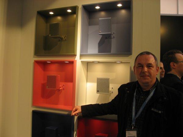 Marcus Baumler, product manager de instalación de db audiotechnik
