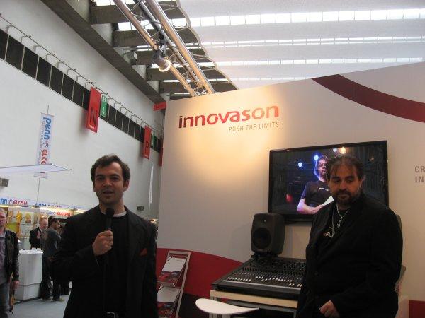 Innovason Marcel Babazade y Herve de Caro