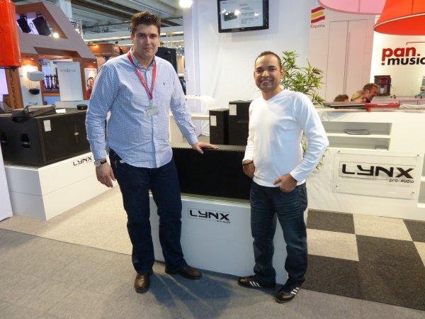 Lynx ProAudio, Jesús Fuentes y Herbert Yuman