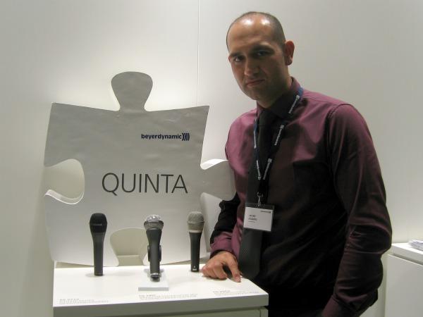 Javier Ocampo, beyerdynamic