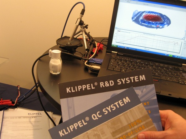 Klippel analyzer