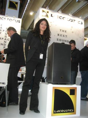 Laura Campuzano, L-Acoustics