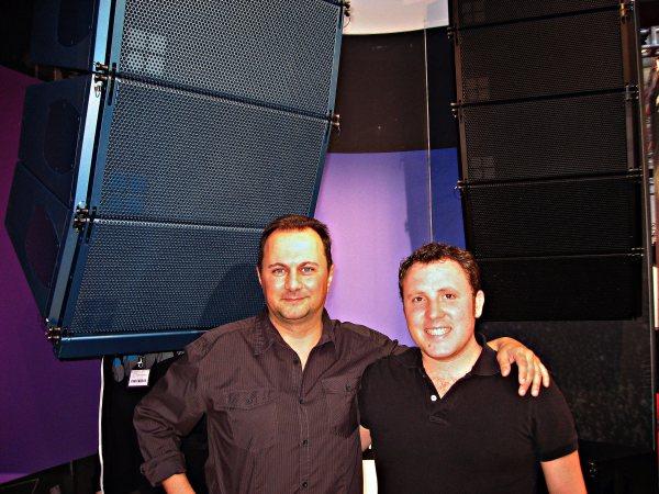 d&b audiotechnik, Enric Esteve y Roger Ríos