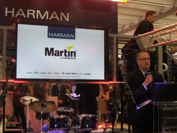 Scott Robbins, Harman Pro