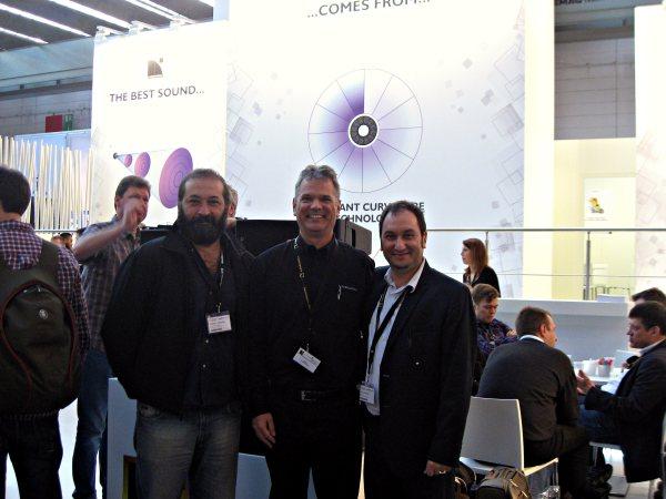 L-Acoustics, Rodrigo Lavecchia, Paul Freudenberg, Julio Levinsonas
