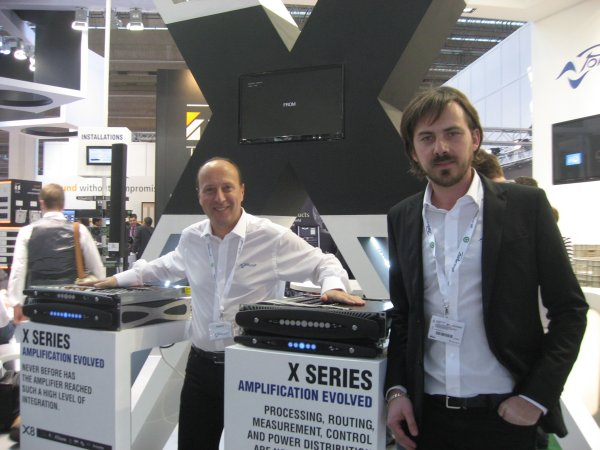 Luca Giorgi y Francesco Fanicchi de Powersoft