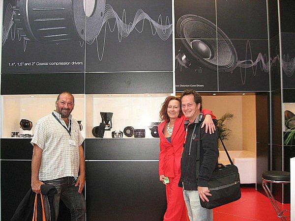 Rodrigo Lavecchia, Marion Sschroeder y Gonzalo Stanich (izda. a dcha.)