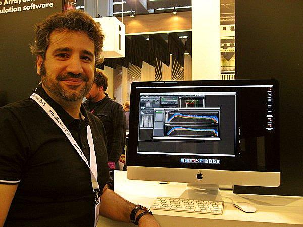 d&b audiotechnik, Jesús Chuso Lavilla de Gradual Event