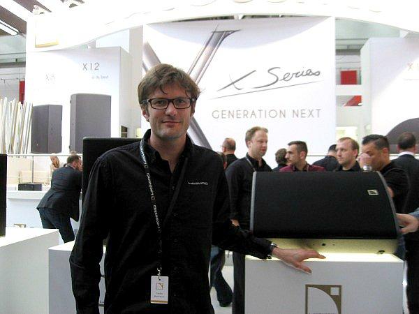 Cédric Montrezor, X-series de L-Acoustics