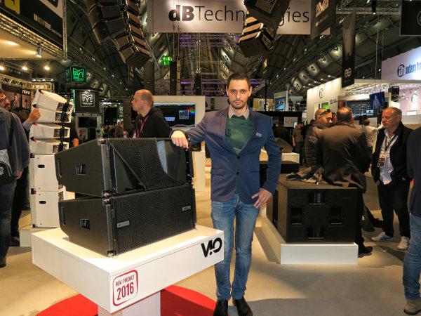 Elio Caia, dB Technologies