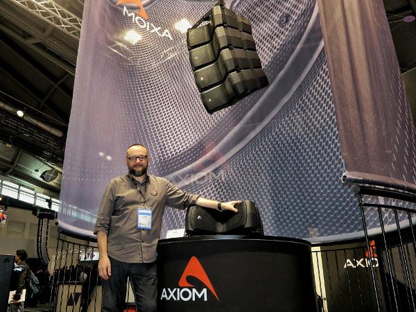 Proel Axiom AX800A, Nicola Zavatta