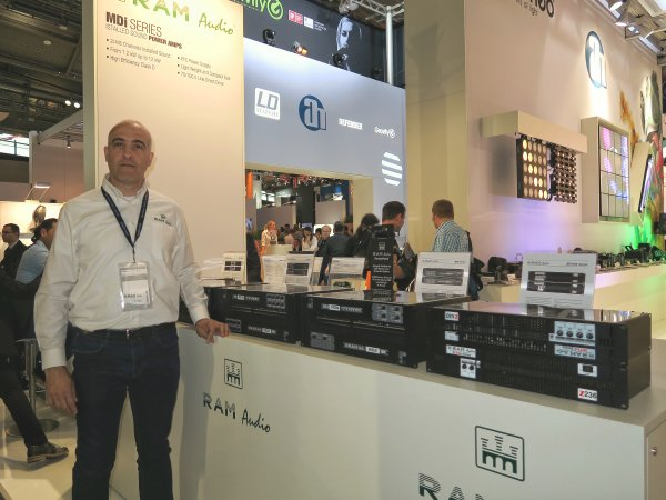 Julio Sonseca, RAM Audio, MDI