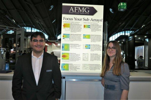 Pedro Lima y Steffi Rehbein de AFMG