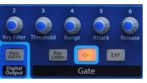 Nuevos controles en el Gate del StudioLive 2442