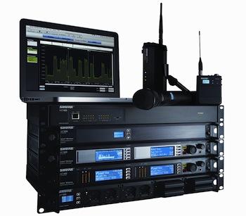 Sistema Shure Axient de Microfonía Inalámbrica